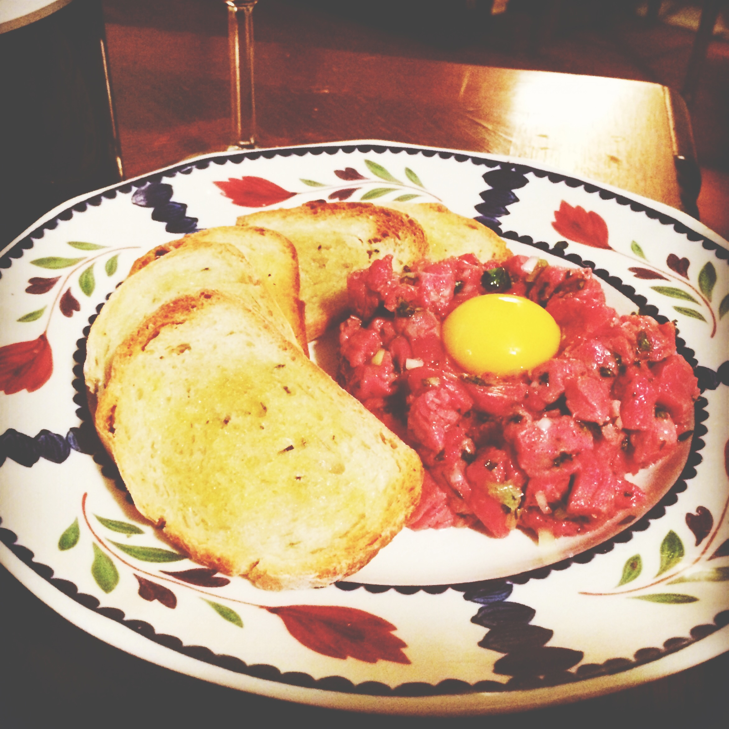 Summer Steak Tartare Recipe — Dishmaps